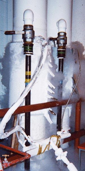 pipe freezing 1